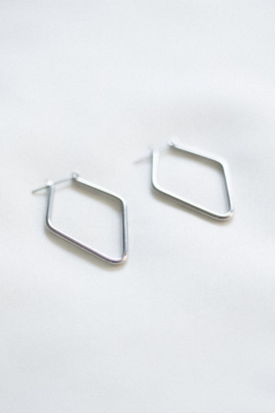 The Ezra Earrings - Silver