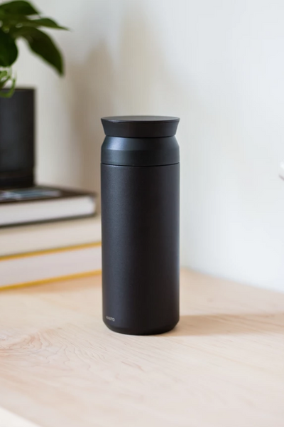 Black Travel Tumbler