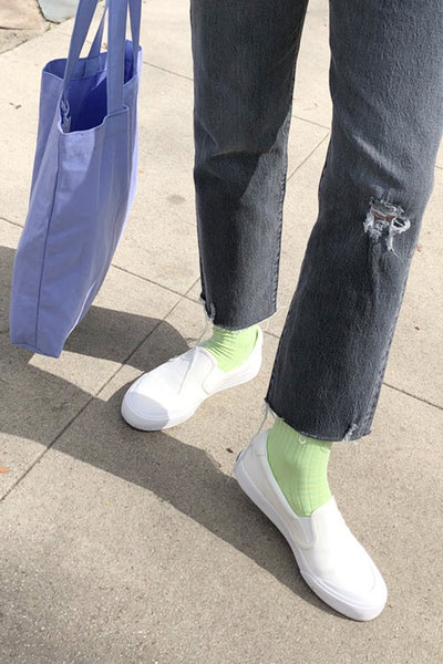Her Socks - Lime