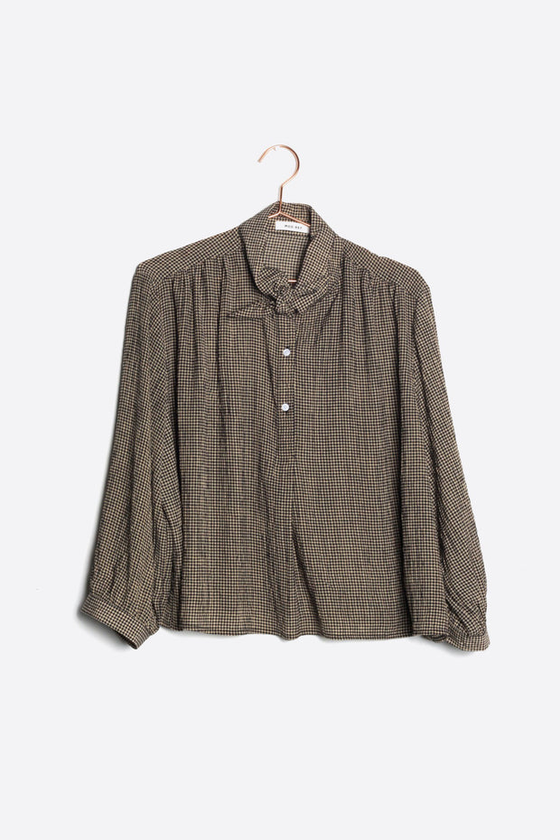 Louise Knot Blouse