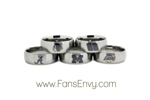 sports wedding rings
