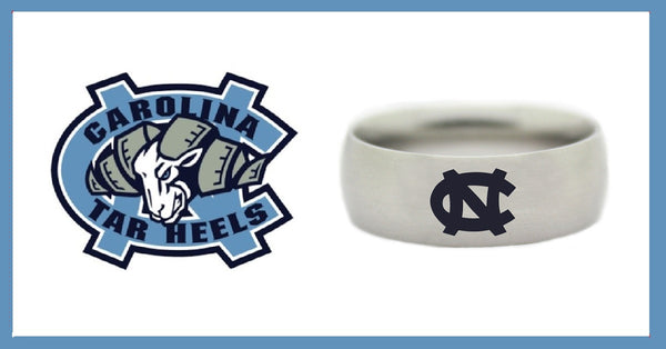 north carolina tar heels jewelry