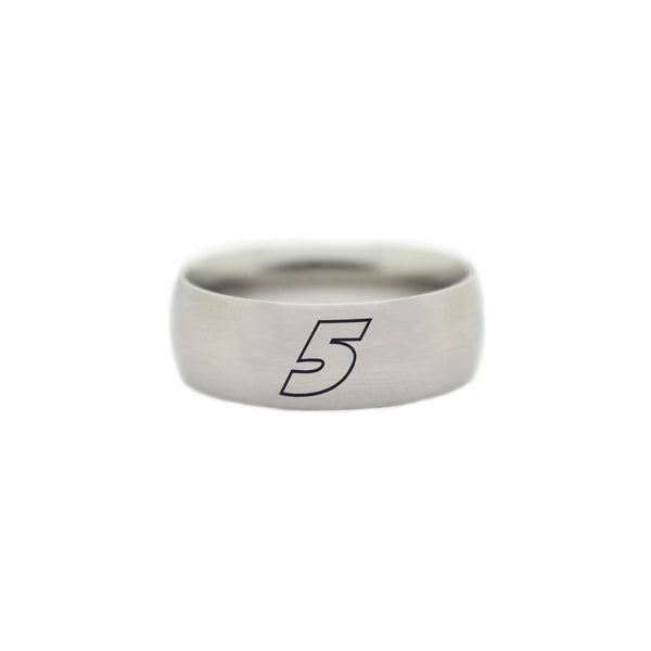 5 Kasey Kahne RING - NASCAR Wedding Band