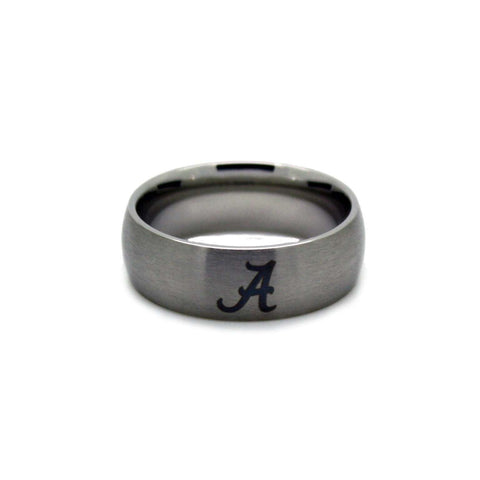 Alabama Crimson Tide College Wedding Band - University of Alabama Jewelry