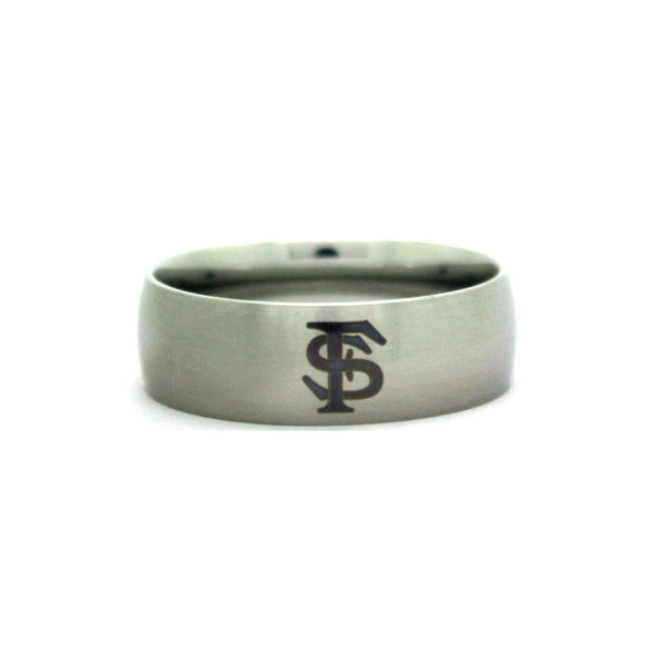 Florida State Seminoles College Wedding Band - University of Florida State Jewelry