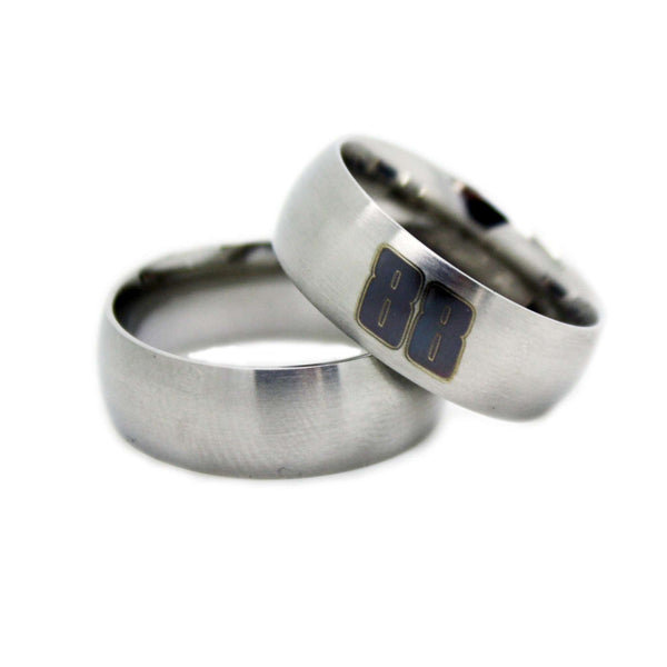 NASCAR Wedding Band - CUSTOM Officially Licensed NASCAR Rings