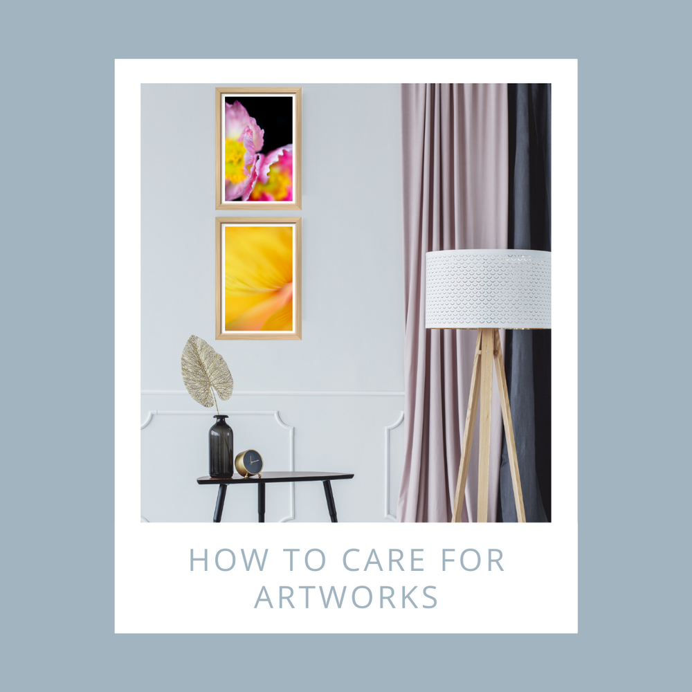 Tips to care for your artworks