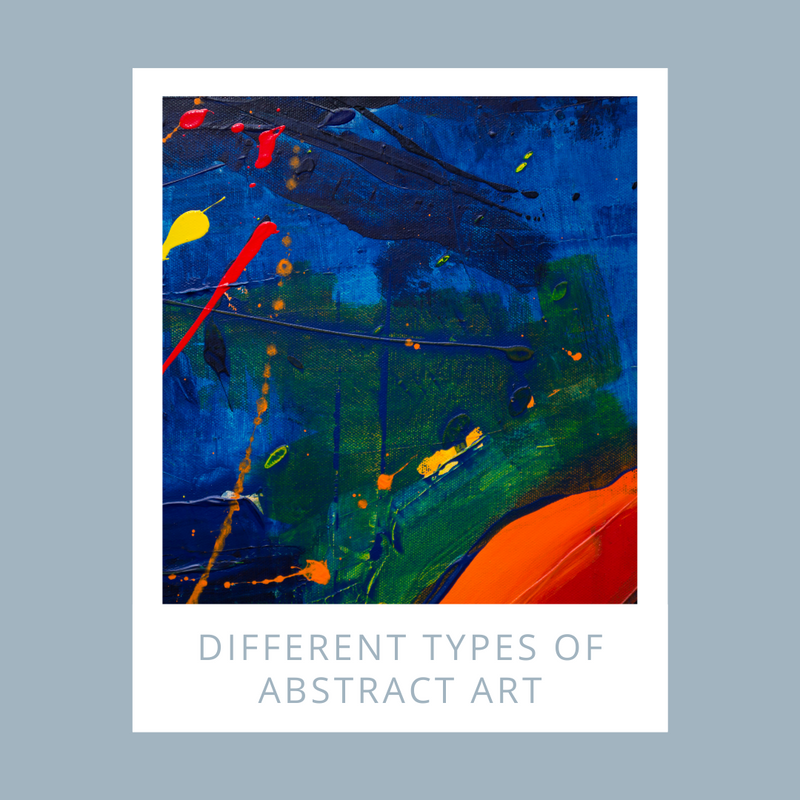 Different types of abstract art
