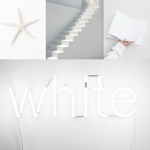 White colour - THE SPACE gallery