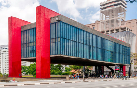 The Sao Paulo Museum of Art
