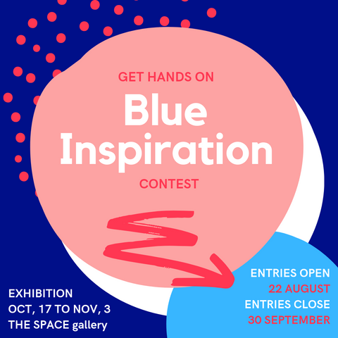 Blue Inspiration at THE SPACE gallery