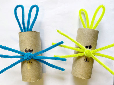 Easter Bunny Paper Roll
