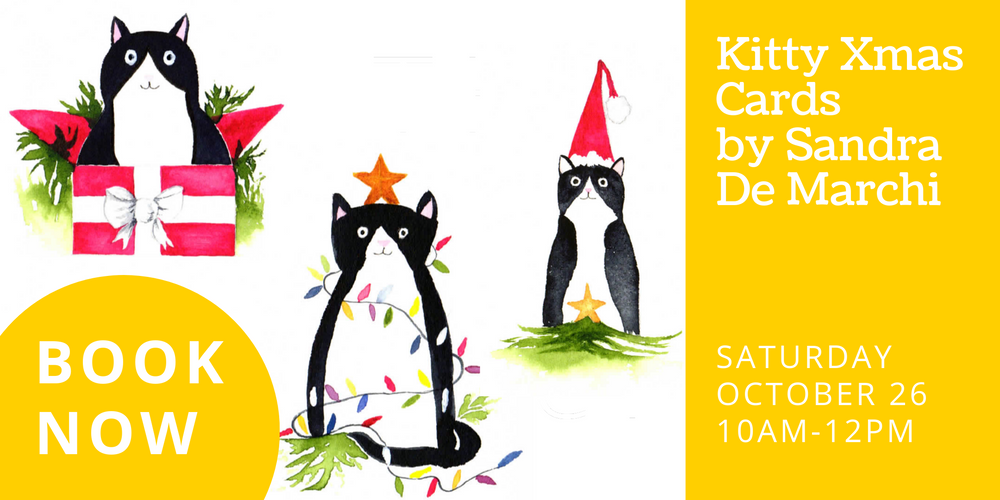 Create your own Kitty Xmas cards