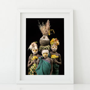 Flower Pot Boys - A3 Size