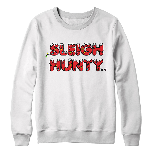Sleigh Hunty Holiday Crew Neck Sweatshirt