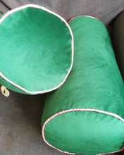 Velvet Bolster Cushion