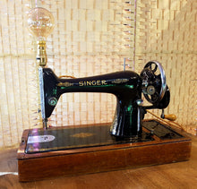 Vintage and Unusual Industrial Style Singer Sewing Machine Table Lamp