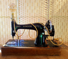 From Loft to Loved - vintage and unique industrial singer sewing machine table lamp - unique and unusual lighting - home and gift - independent shop in sedgefield county durham