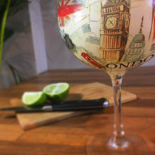 London Stemmed Balloon Style Gin Glass or Cocktail Glass