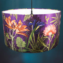 Purple Whisper Drum Lampshade