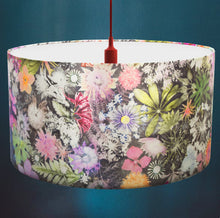 Cascades of Colour Drum Lampshade