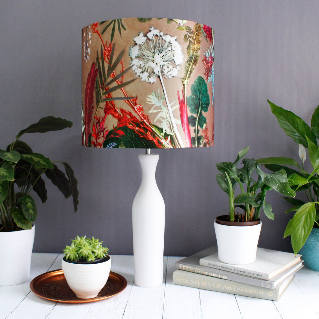 Tropical Dusk Drum Lampshade
