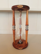 From Loft to Loved - Unique Goethe Barometer in a reclaimed bobbin case used to predict fair or stormy weather - weather checker - antique bobbin - home and garden gift - sedgefield County Durham -