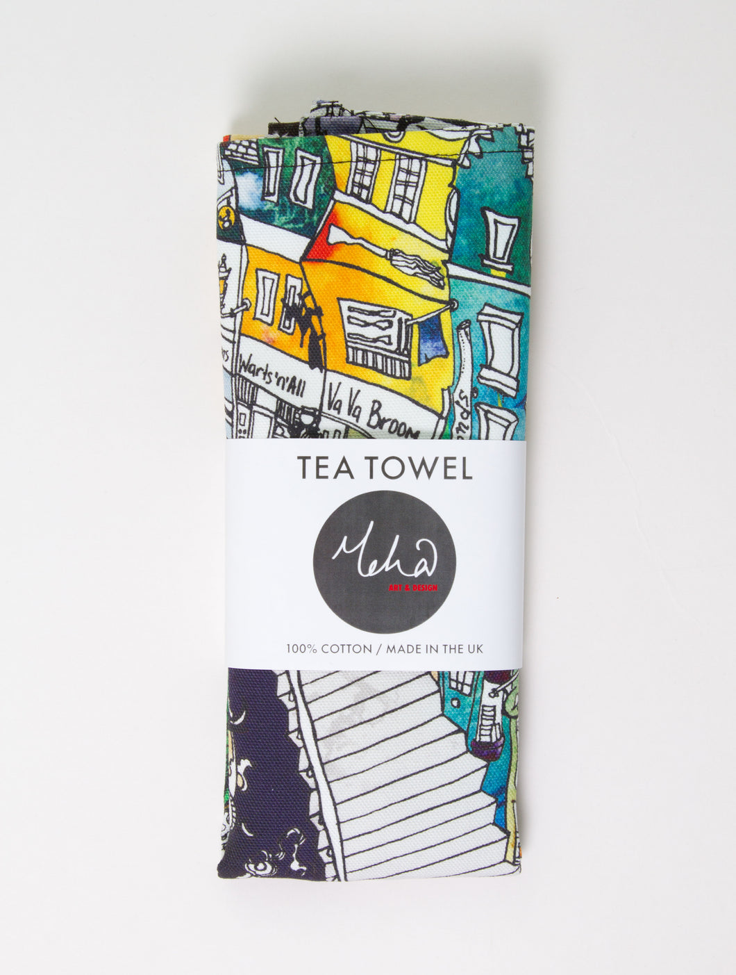 From Loft to Loved - harry potter tea towel - home and gift Sedgefield - County Durham