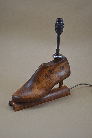 From Loft to Loved - unusual and unique gift - home and gift - independent shop in Sedgefield County Durham - antique high heeled table lamp