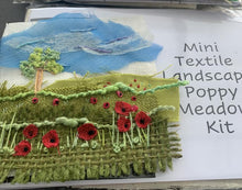 Mini Textile Landscape Kit - Poppy Meadow