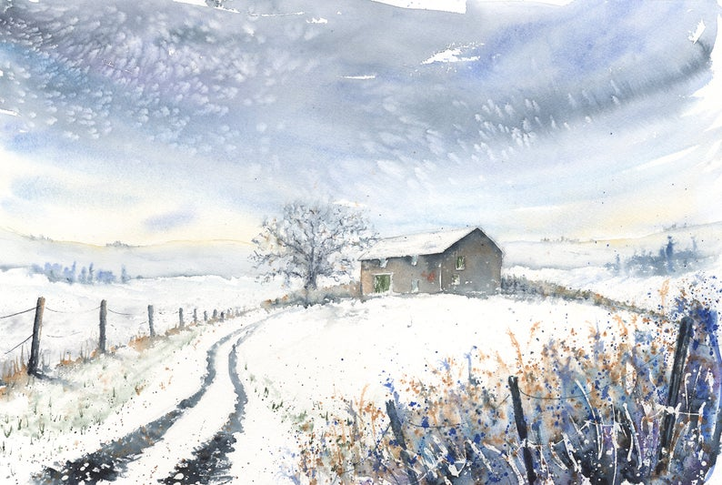 Winter Barn, High Shincliffe