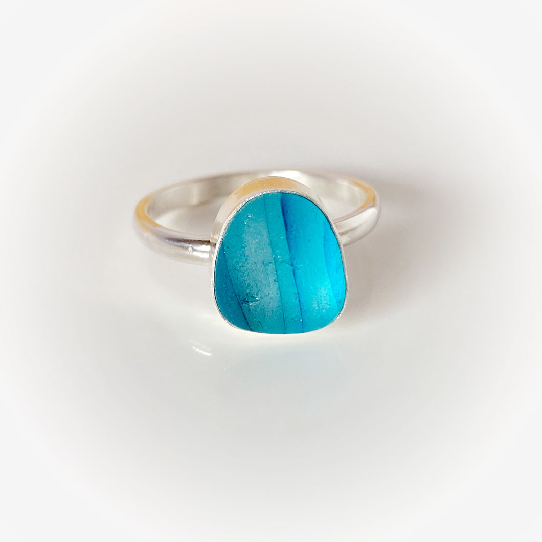 Seaham Seaglass Ring
