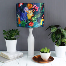 Jungle Surprise Drum Lampshade