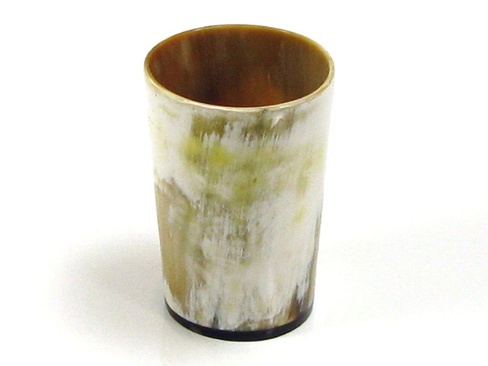 Rustic Lightly Polished Horn Drinking Beaker
