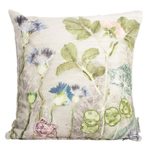 Mother's Silver Bouquet Velvet Cushion