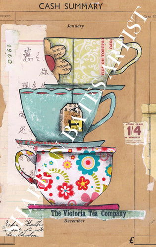 Time for Tea A4 Print
