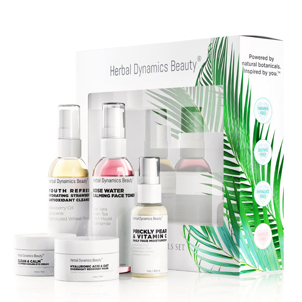 Herbal Dynamics Beauty Travel Essentials Kit