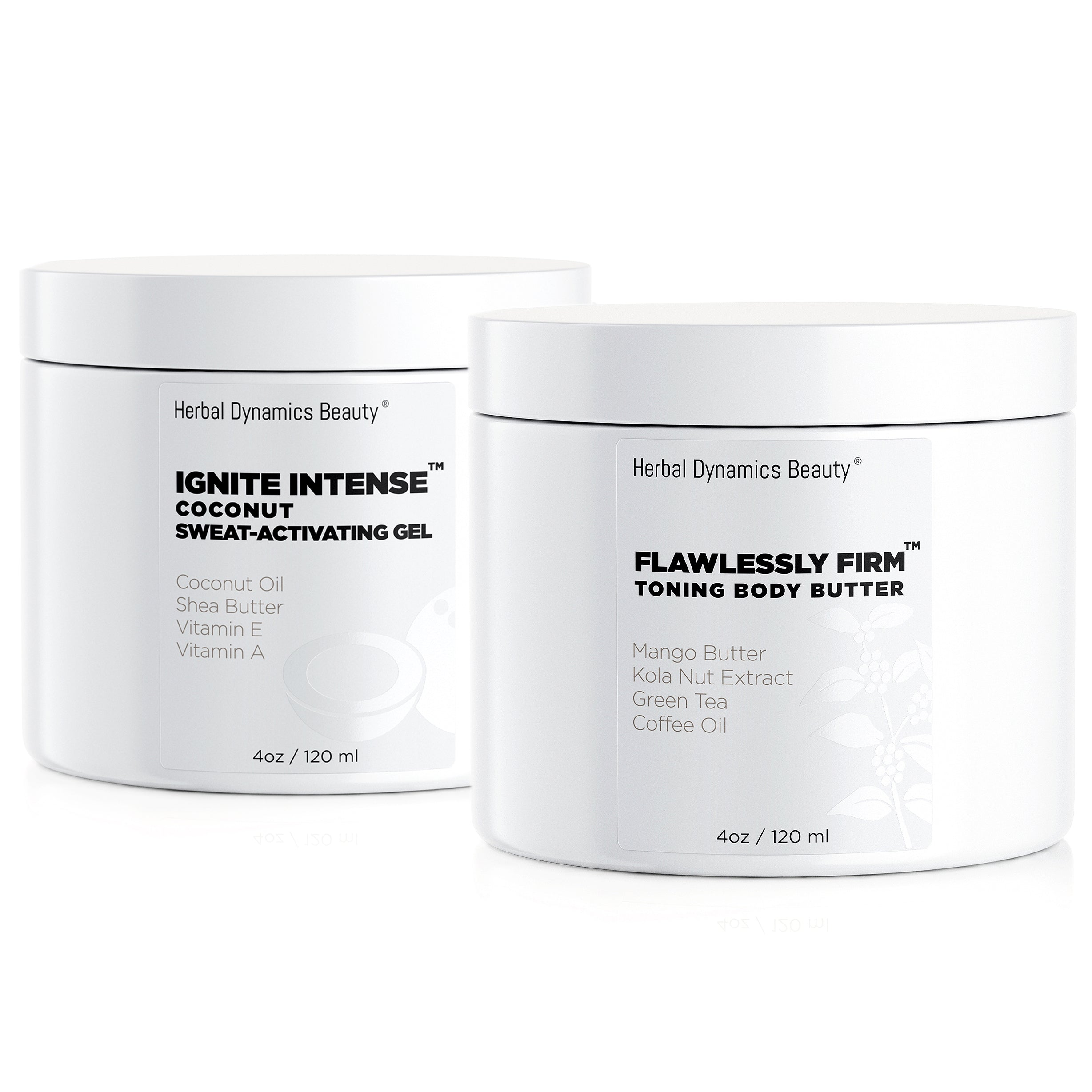 Flawlessly Fit!™ Kit: Coconut Sweat Activating Gel + Kola Nut Toning Body Butter Duo