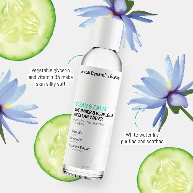 Clean & Calm® Cucumber & Blue Lotus Micellar Water
