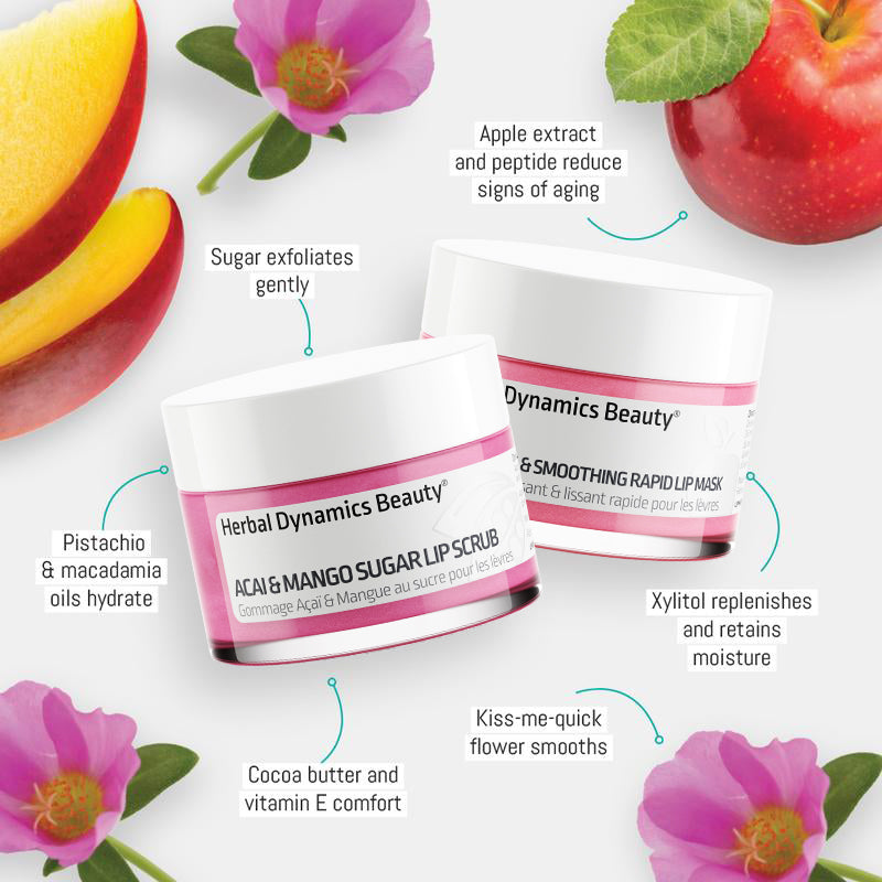 LipSoothe™ Volumizing Lip Scrub & Mask Duo