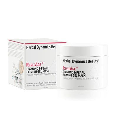 Herbal Dynamics Beauty® RevitAge® Diamond & Pearl Firming Gel Mask