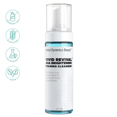 Vivid Revival® AHA Brightening Foaming Cleanser