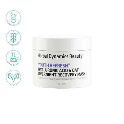 Youth Refresh® Hyaluronic Acid & Oat Overnight Recovery Mask