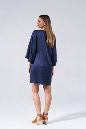 Ice Cube Dress - Blue