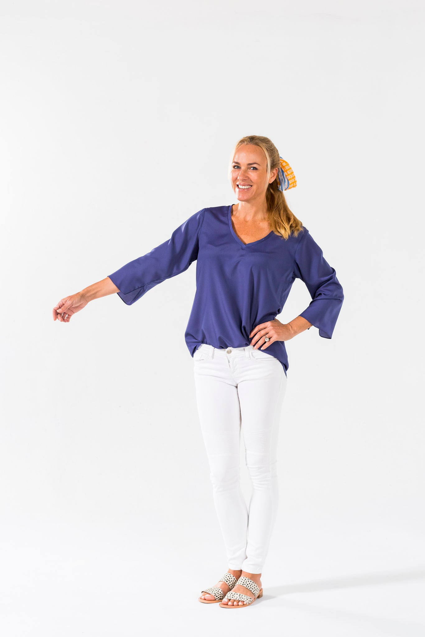 Simple Tunic - Cornflower