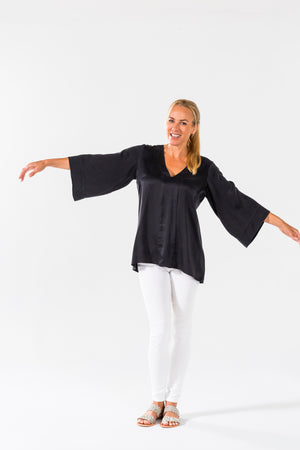 Ice Cube Tunic - Black