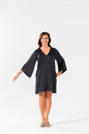 Ice Cube Dress - Black