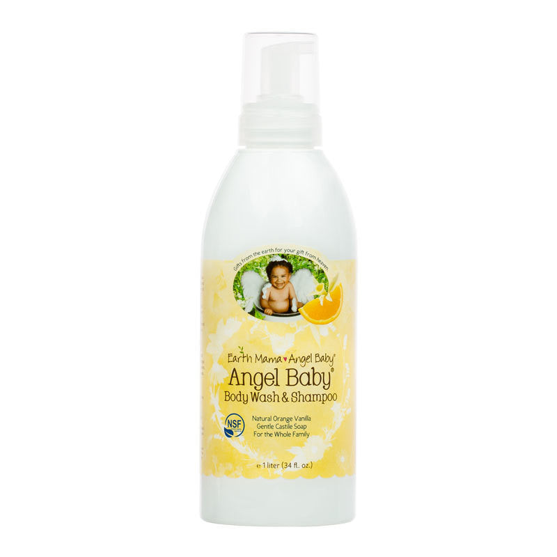 Earth Mama Angel Baby® Angel Baby Body Wash & Shampoo