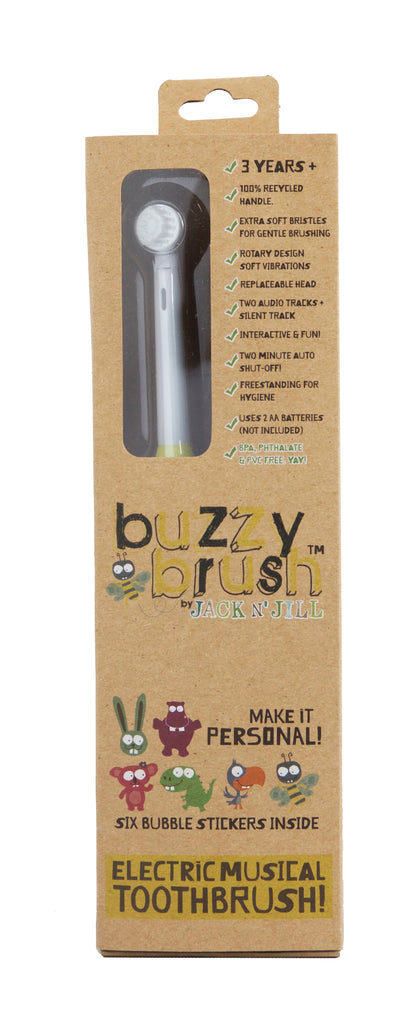 Jack N' Jill Buzzy Brush Electric Toothbrush