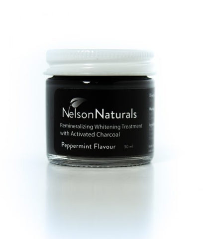 Nelson Naturals Remineralizing Whitening Treatment with Activated Charcoal